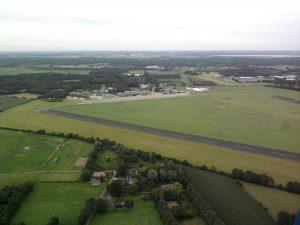 Start / landingsbaan Eelde